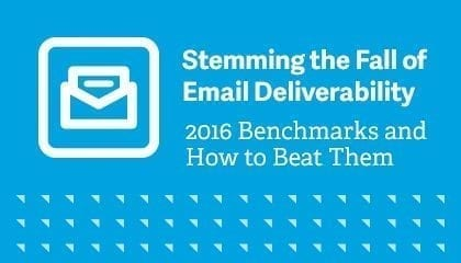 Stemming the Fall of Email Deliverability Webinar